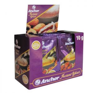 Anchor Instant Yeast 24 x 10g Display
