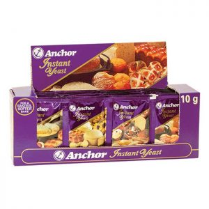 Anchor Instant Yeast 48 x 10g display