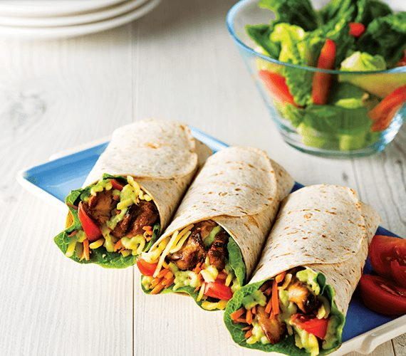 Flat Breads Wraps and Sticks