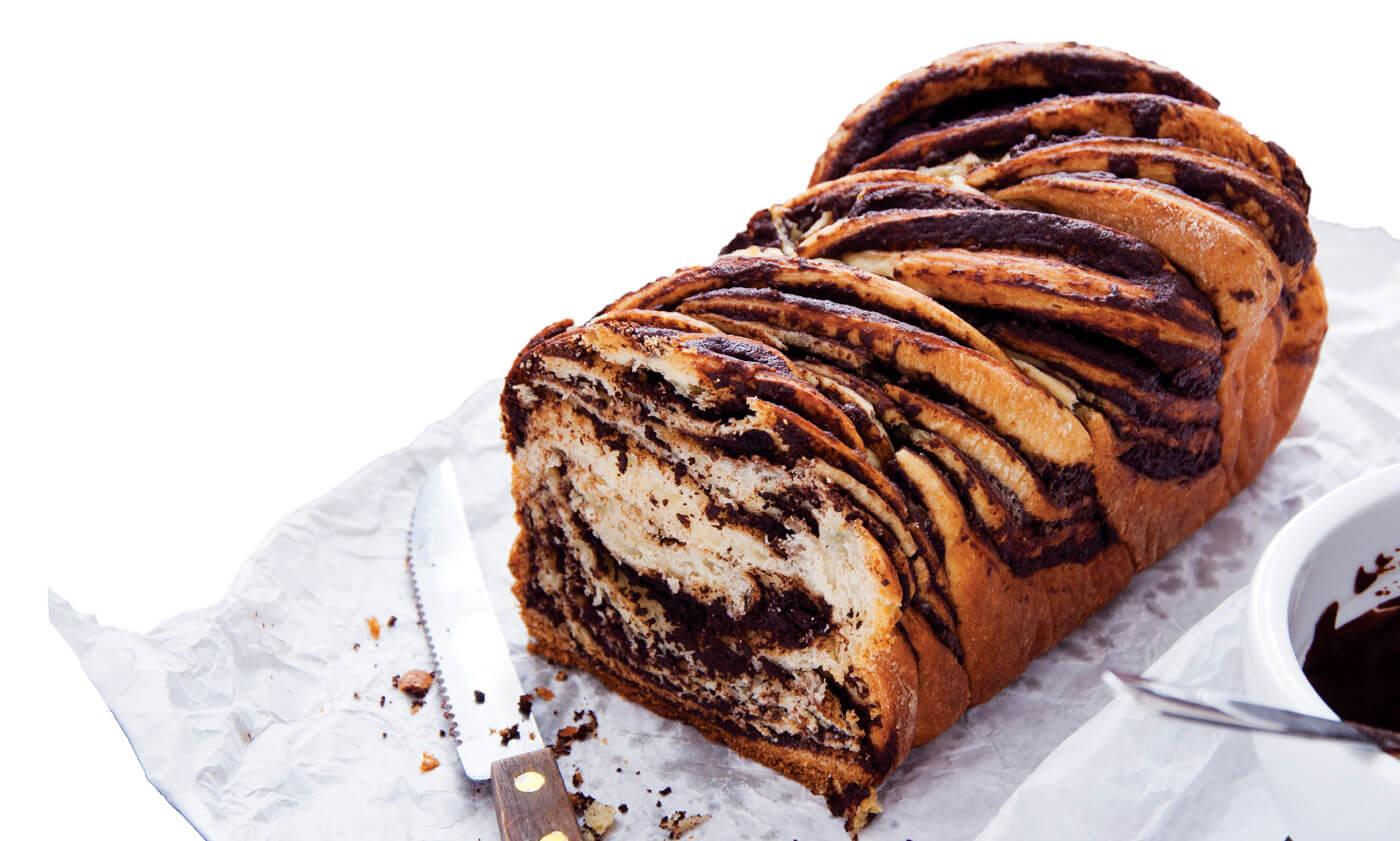 Chocolate and Honey Babka