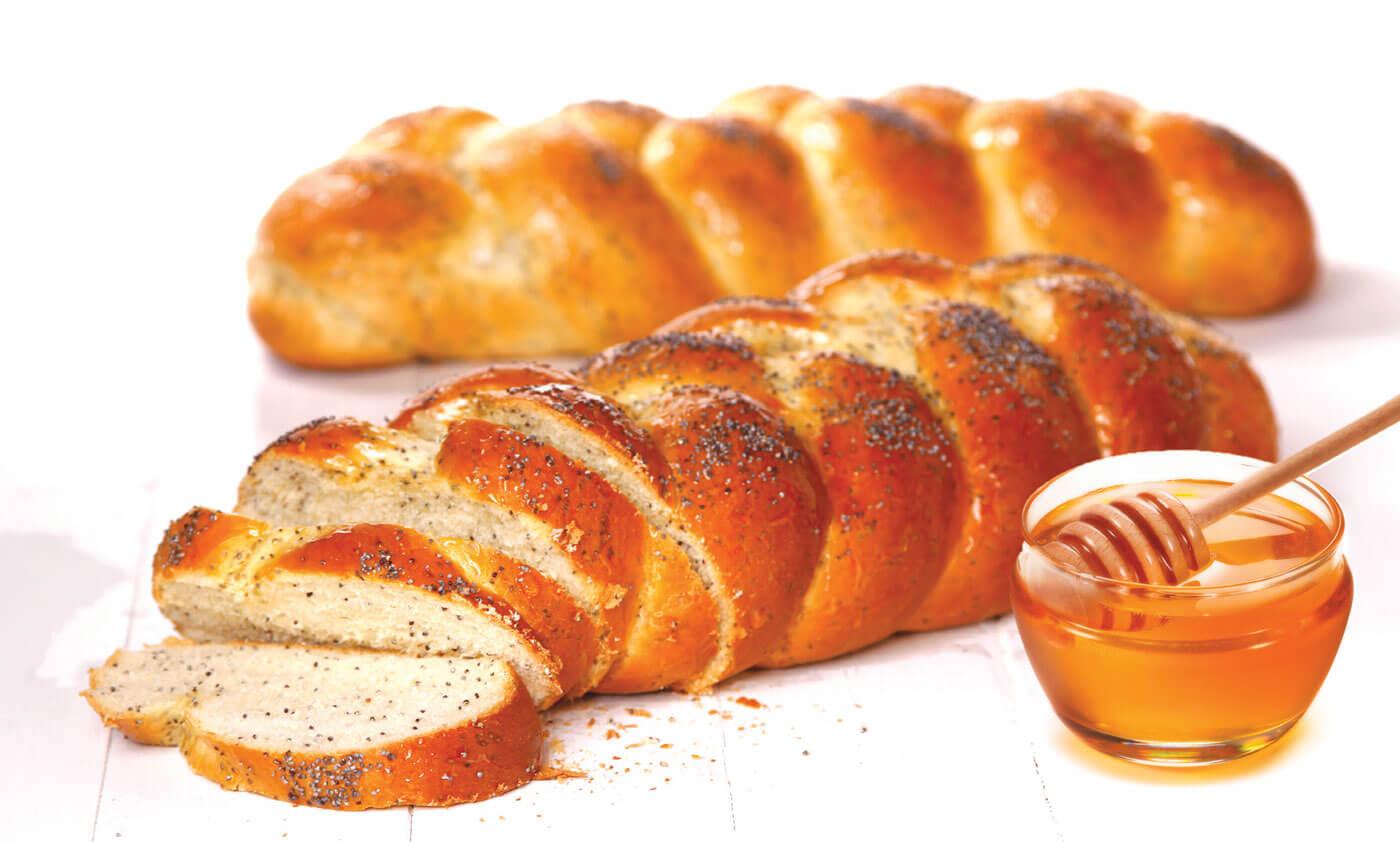 Spelt Poppy Seed Bread