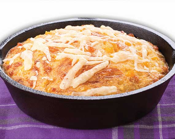 Cheese & Corn Braai Bread