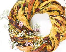 Festive Savoury Wreath