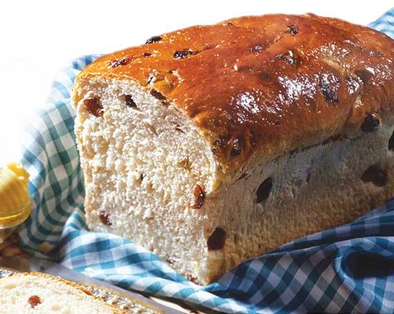 Basic Raisin Bread