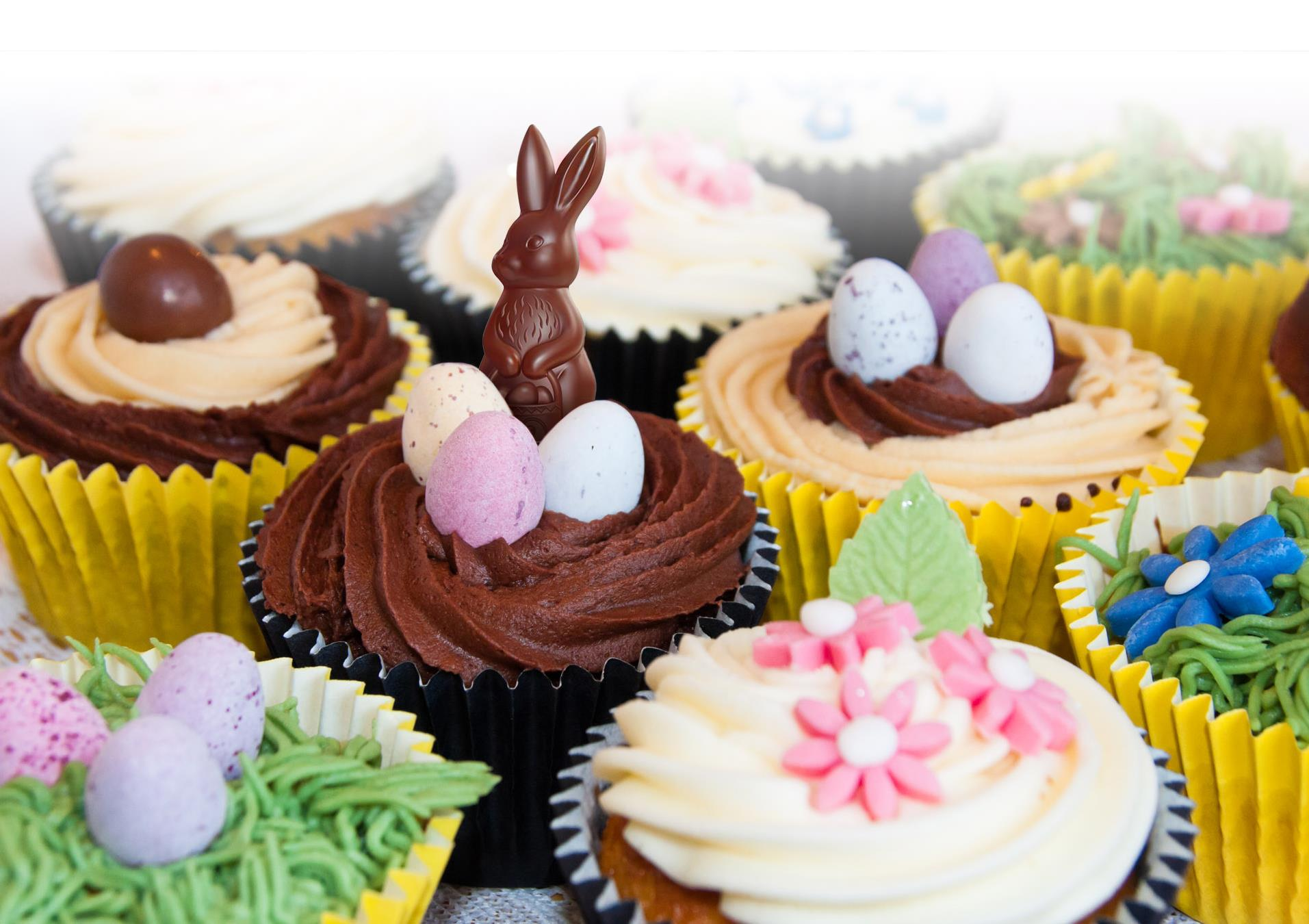 Easter Choc Chip Cupcakes